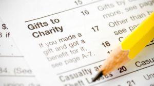 Reporting Charitable Deductions